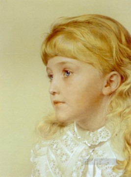 Frederick Deco Art - Augustus Frederick Portrait Of May Gillilan Victorian painter Anthony Frederick Augustus Sandys