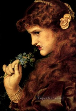 Love Victorian painter Anthony Frederick Augustus Sandys Oil Paintings