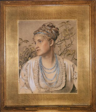 Mary Sandys Victorian painter Anthony Frederick Augustus Sandys Oil Paintings