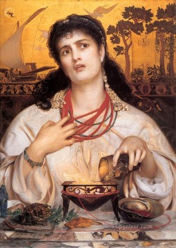 Medea Victorian painter Anthony Frederick Augustus Sandys Oil Paintings