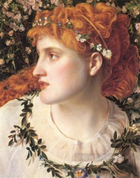 Perdita Victorian painter Anthony Frederick Augustus Sandys Oil Paintings