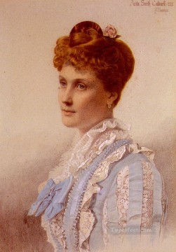 Frederick Deco Art - Portrait Of Anita Smith Victorian painter Anthony Frederick Augustus Sandys