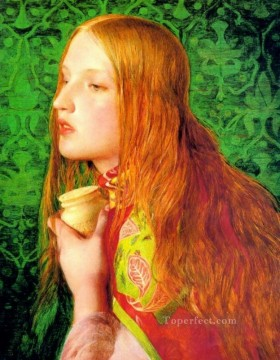 Victorian painter Anthony Frederick Augustus Sandys Oil Paintings