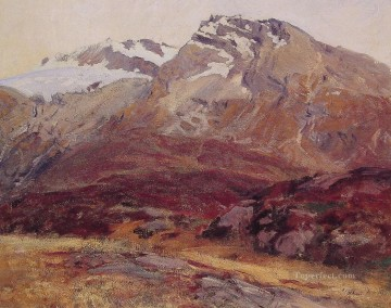 Coming Down from Mont Blanc landscape John Singer Sargent Oil Paintings