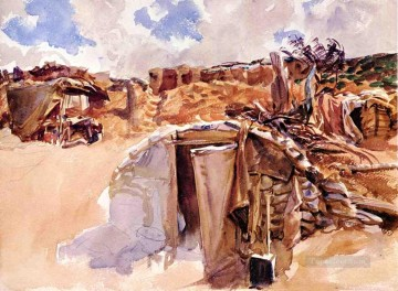 Dugout John Singer Sargent Oil Paintings