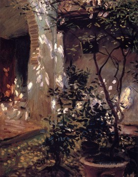 Pot Art - Granada Sunspots John Singer Sargent