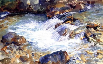 In the Tyrol landscape John Singer Sargent Oil Paintings