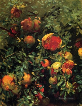 Pomegranates John Singer Sargent Oil Paintings
