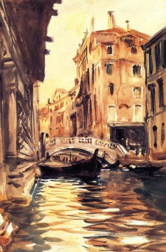 Ponte della Canonica John Singer Sargent Oil Paintings