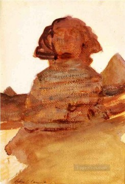The Sphinx John Singer Sargent Oil Paintings
