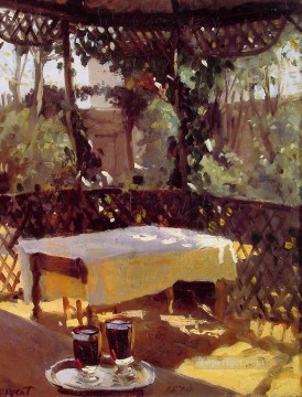 Wine Painting - Wineglasses John Singer Sargent