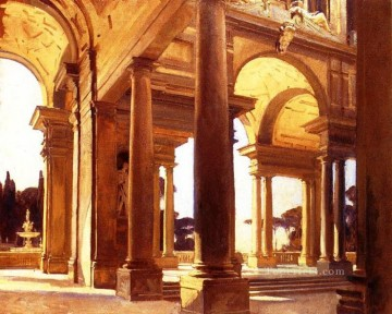 Arc Art - A Study of Architecture Florence John Singer Sargent