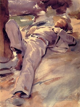 Pater Harrison aka Siesta John Singer Sargent Oil Paintings