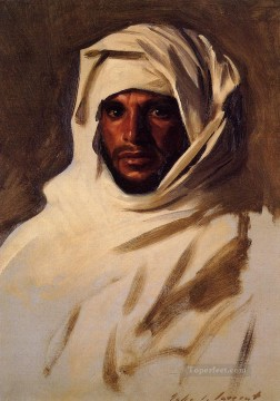 A Bedouin Arab portrait John Singer Sargent Oil Paintings