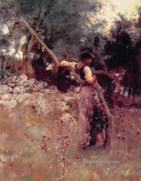 A Capriote John Singer Sargent Oil Paintings