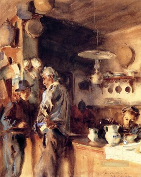 A Spanish Interior John Singer Sargent Oil Paintings