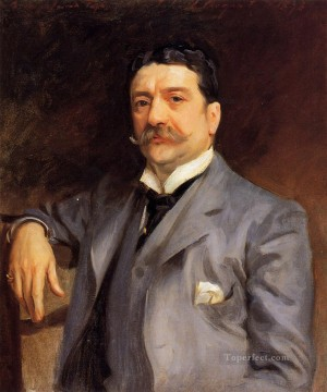 Alma Tadema Portrait of Louis Alexander Fagan John Singer Sargent Oil Paintings