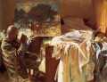 An Artist in His Studio John Singer Sargent
