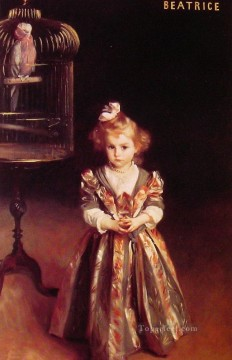Beatrice Goelet John Singer Sargent Oil Paintings