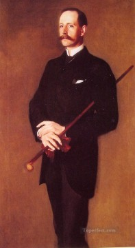 Brigadier Archibald Campbell portrait John Singer Sargent Oil Paintings