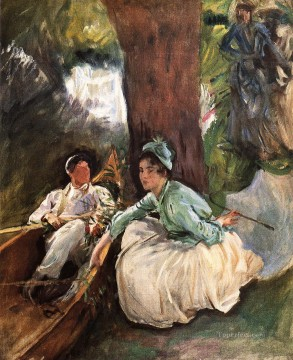 by Works - By the River John Singer Sargent