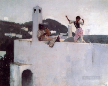Capri John Singer Sargent Oil Paintings
