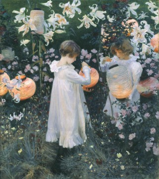 Rose Art - Carnation Lily Lily Rose John Singer Sargent