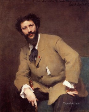 Carolus Duran portrait John Singer Sargent Oil Paintings