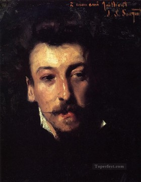 Eugene Juillerat portrait John Singer Sargent Oil Paintings