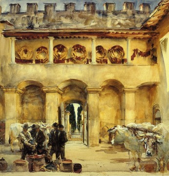 Florence Torre Galli John Singer Sargent Oil Paintings