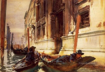 Goldolierss Siesta John Singer Sargent Oil Paintings