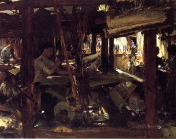 Granada The Weavers John Singer Sargent Oil Paintings