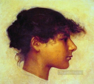 Head Art - Head of Ana Capril Girl portrait John Singer Sargent