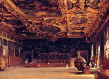 Sargent Deco Art - Interior of the Doges Palace John Singer Sargent