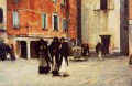 Leaving Church Campo San Canciano Venice John Singer Sargent
