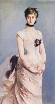 Madame Paul Poirson portrait John Singer Sargent Oil Paintings
