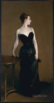 Madame X portrait John Singer Sargent Oil Paintings