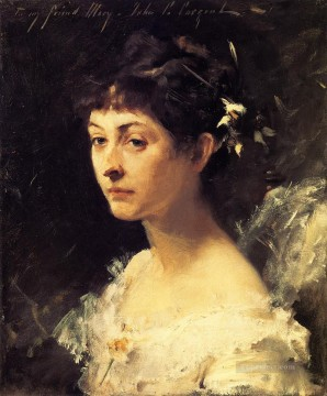 Turner Art - Mary Turner Austin portrait John Singer Sargent