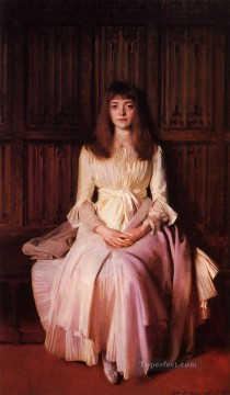 Miss Elsie Palmer portrait John Singer Sargent Oil Paintings