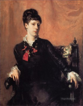 Miss Frances Sherborne Ridley Watts portrait John Singer Sargent Oil Paintings