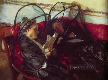 Mosquito Nets John Singer Sargent Oil Paintings
