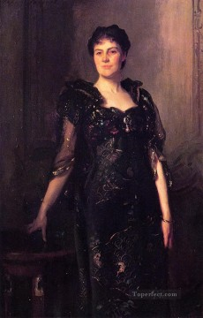 Mrs Charles F St Clair Anstruther Thompson nee Agnes portrait John Singer Sargent Oil Paintings