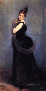 Mrs George Gribble portrait John Singer Sargent Oil Paintings