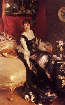 Singer Art Painting - Mrs Kate A More portrait John Singer Sargent
