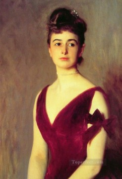 Mrs charles E Inches portrait John Singer Sargent Oil Paintings