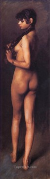nude Art Painting - Nude Egyptian Girl John Singer Sargent