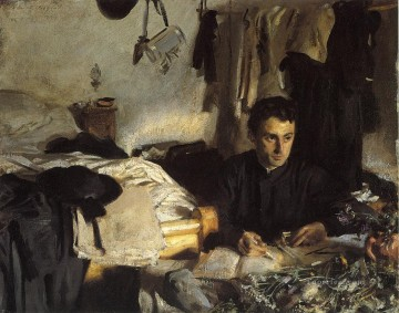 Padre Sebastiano John Singer Sargent Oil Paintings