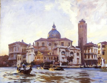 Venice Works - Palazzo Labia and San Geremia Venice John Singer Sargent