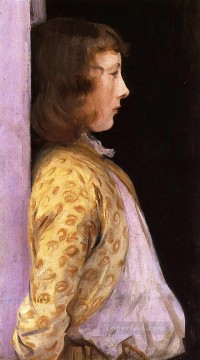 Portrait of Dorothy Barnard John Singer Sargent Oil Paintings