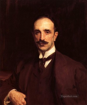 Portrait of Douglas Vickers John Singer Sargent Oil Paintings